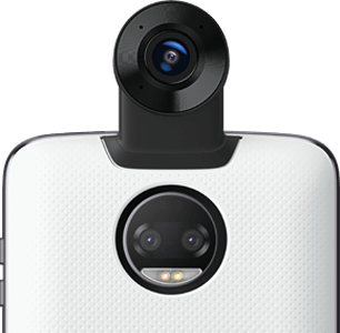 Moto Mods 360º - 360° photos and 4K video with 3D sound